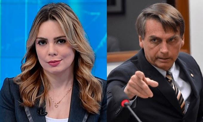 E aí STF? Apresentadora Rachel Sheherazade é acusada de incitar a morte de Bolsonaro