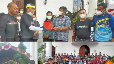 Bupati dan Wakil Bupati Tana Toraja Sambut Hangat Kehadiran Komunitas Sepeda Esso Esso Gowes