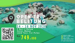 promo murah open trip belitung 3 hari 2 malam