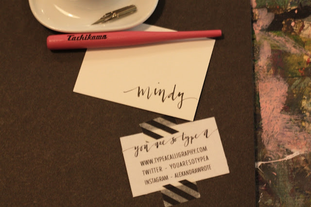 Life List Item Complete - Learn Calligraphy