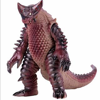 EX Gomora Rubber Figure Toys 15cm