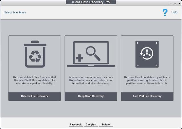 برنامج  iCare Data Recovery Pro 8.1.9.8 لإستعادة الملفات المحذوفة بجميع أنواعها سواء كانت فيديوهات أو صور اوملفات أوفيس