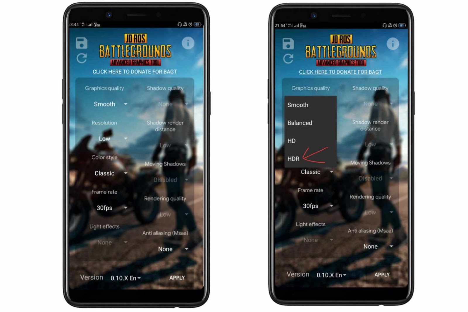 Pubg Mobile Hdr Extreme Fps Ios - Pubg Hack Host