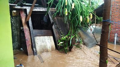 Curah Hujan Tinggi, 6 Desa di Sanggar Dihantam Banjir