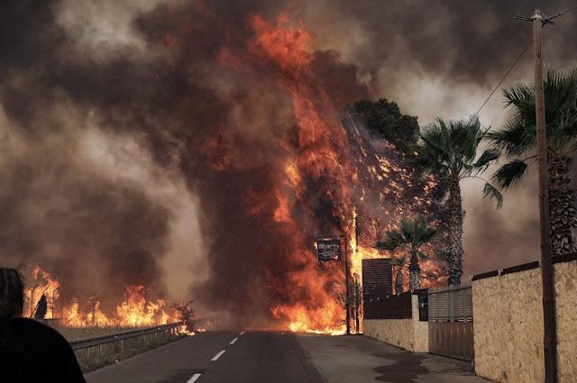 Πυρκαγιά στη Βαρυμπόμπη / Οργή από τον αντιδήμαρχο Αχαρνών: «Δεν υπάρχει κανένα πυροσβεστικό» – VIDEO