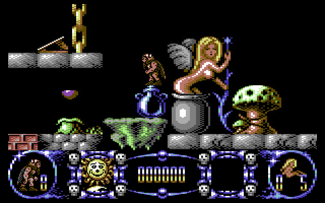 Grumbel's Random Thoughts: C64 Graphics: Dissecting Creatures