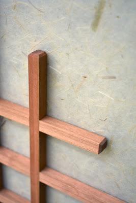 kumiko grid detail