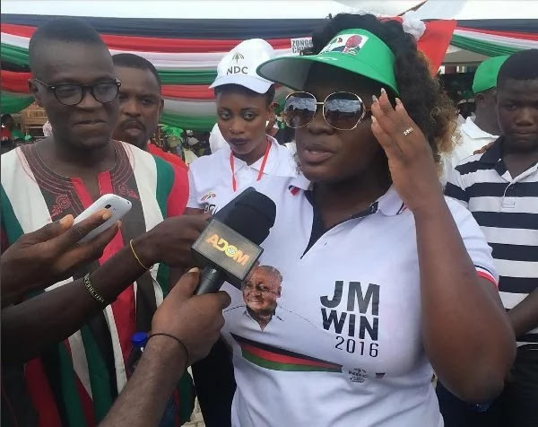 Image result for I've Been Very Stupid And Useless Woaman For Joining Useless Party NDC - Tracey Boakye