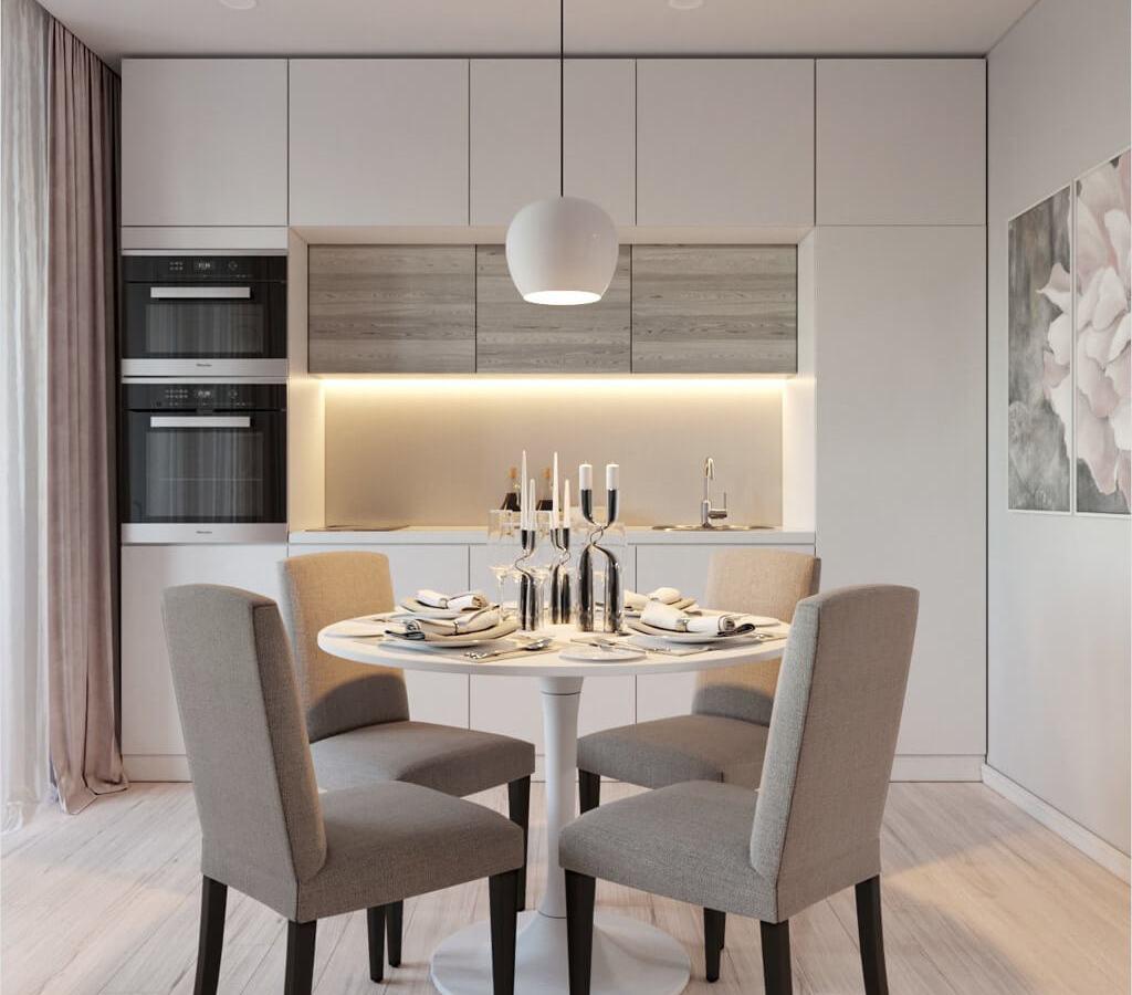 Porqué elegir una mesa redonda para la cocina - Cocinas con ...