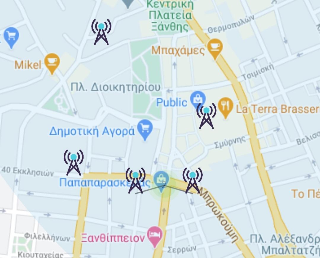 Πόση ακτινοβολία εκπέμπουν οι κεραίες στην Ξάνθη - Με ένα κλικ στο κινητό σας!