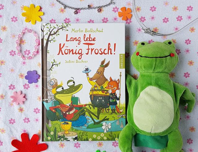 """""""Lang lebe König Frosch"""" und weitere philosophische Kinderbücher von Martin Baltscheit. Kinder finden philosophische Fragen spannend, zumal, wenn sie in so phantasievolle Geschichten und Bücher eingewoben sind wie in  """"Lang lebe König Frosch"""", """"Nur ein Tag"""", """"Krähe und Bär"""" und """"Besuch Aus Tralien"""", die ich Euch in meiner Rezension ausführlich vorstelle."""