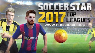 Sebuah game sepakbola yang seru dengan kualitas grafik menakjubkan yang datang dari devel Soccer Star 2017 Top Leagues v0.5.4 Apk Mod Unlimited Money