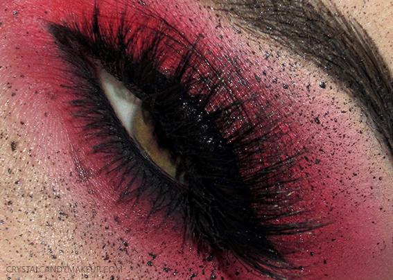 EOTD Make Up For Ever Aqua XL Color Paints Esqido Eve Black Freckles