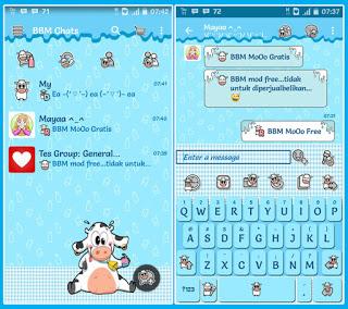 BBM Mod Lucu dan Imut Versi 2.12.0.9 APK