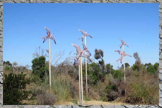 Bay Area Birding - swift sculpture