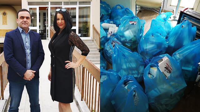 Πράξη αλληλεγγύης στο Γηροκομείο Ναυπλίου από την Κωνσταντίνα Ρετσινά