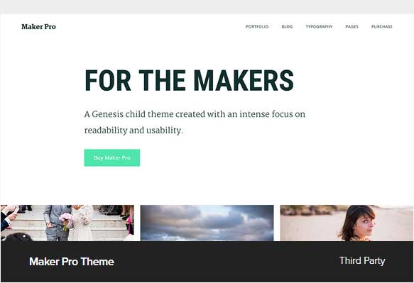 Maker Pro Theme Award Winning Pro Themes for Wordpress Blog : Award Winning Blog