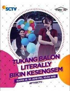 nama foto biodata pemain FTV Tukang Balon Literally Bikin Kesengsem