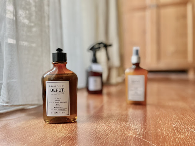 DEPOT 運動髮體 系列