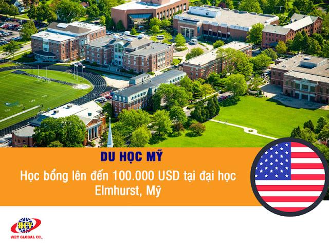 Du học Mỹ: Học bổng đến 100.000 USD tại đại học Elmhurst năm 2020 – 2021