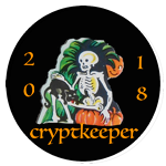 Proud 2018 Countdown Cryptkeeper!