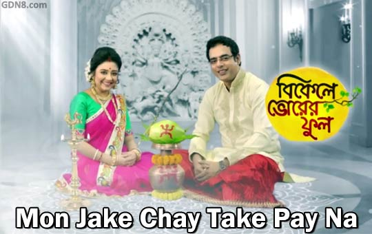 Mon Jake Chay Take Pay Na - Zee Bangla Serial Song