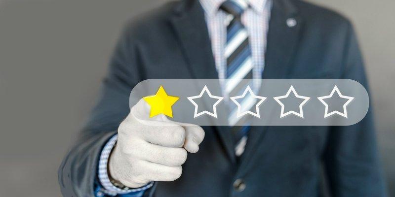 如何讓星級評價效果以百分比呈現﹍CSS 技巧詳解