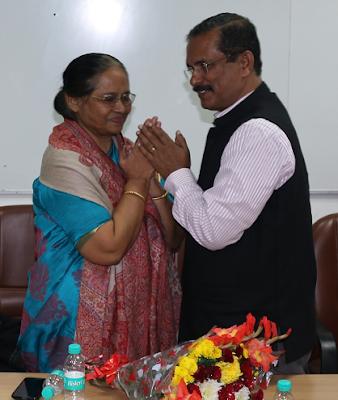 Farewell to Ms Rashm Pradhan, DDG(P) NABM, Delhi