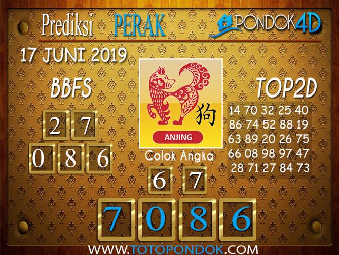 Prediksi Togel PERAK PONDOK4D 18 JUNI 2019