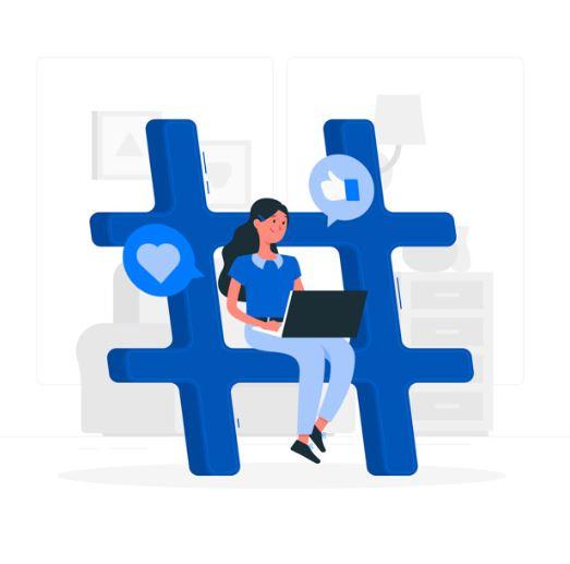 Como se Utilizan los Hashtags