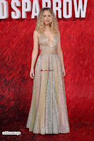 Jennifer Lawrence in a golde glittering gown at Red Sparrow Premiere in London ~  Exclusive Galleries 035.jpg