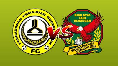 Live Streaming PKNP FC vs Kedah Piala Malaysia 25.9.2019