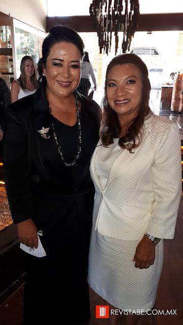 Perla Aguilar y Carmen Nicolas