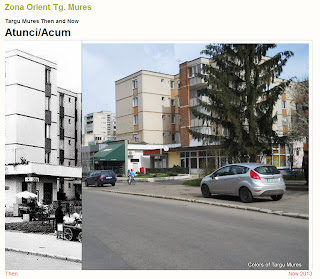 Zona Orient, Tirgu-Mures - Then and Now