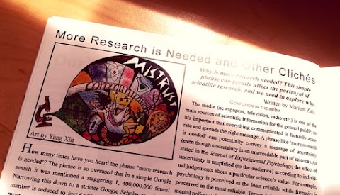 My First Published Article in Kinesis Magazine