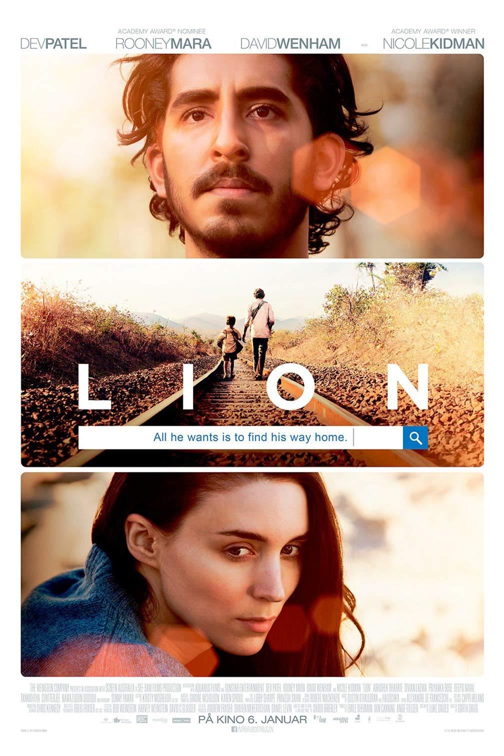 Lion (2016) จนกว่า…จะพบกัน