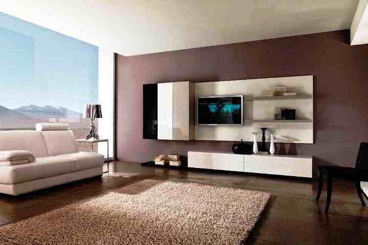 ツ 55 Kombinasi Warna Cat Dinding Ruang Tamu Minimalis Elegan