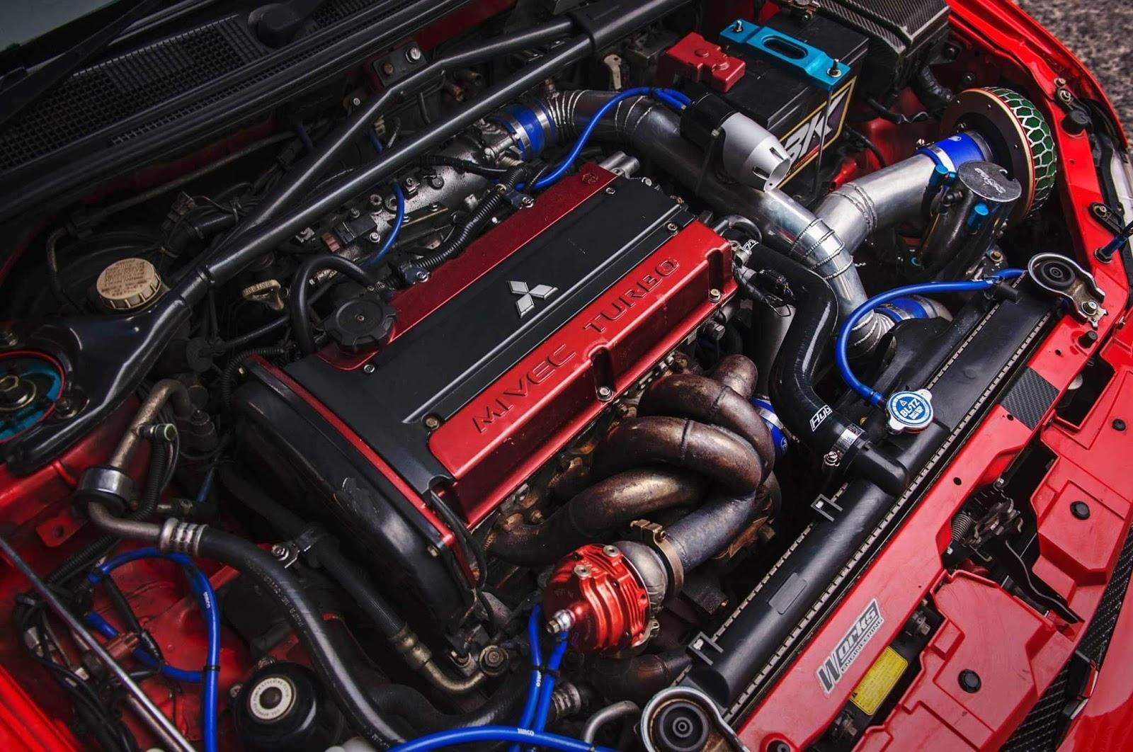 Mitsubishi 4G63 Engine