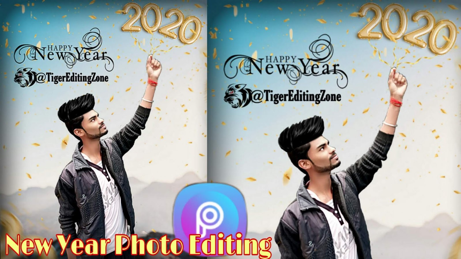 Happy New Year 2020 Photo Editing Background & PNG Download