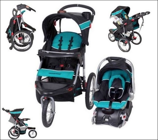 Graco Jogging Stroller And Carseat Combo