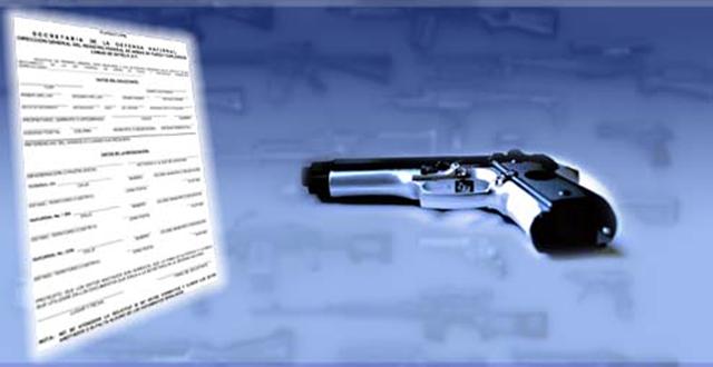 ¿Deseas utilizar explosivos o importar armas de fuego?