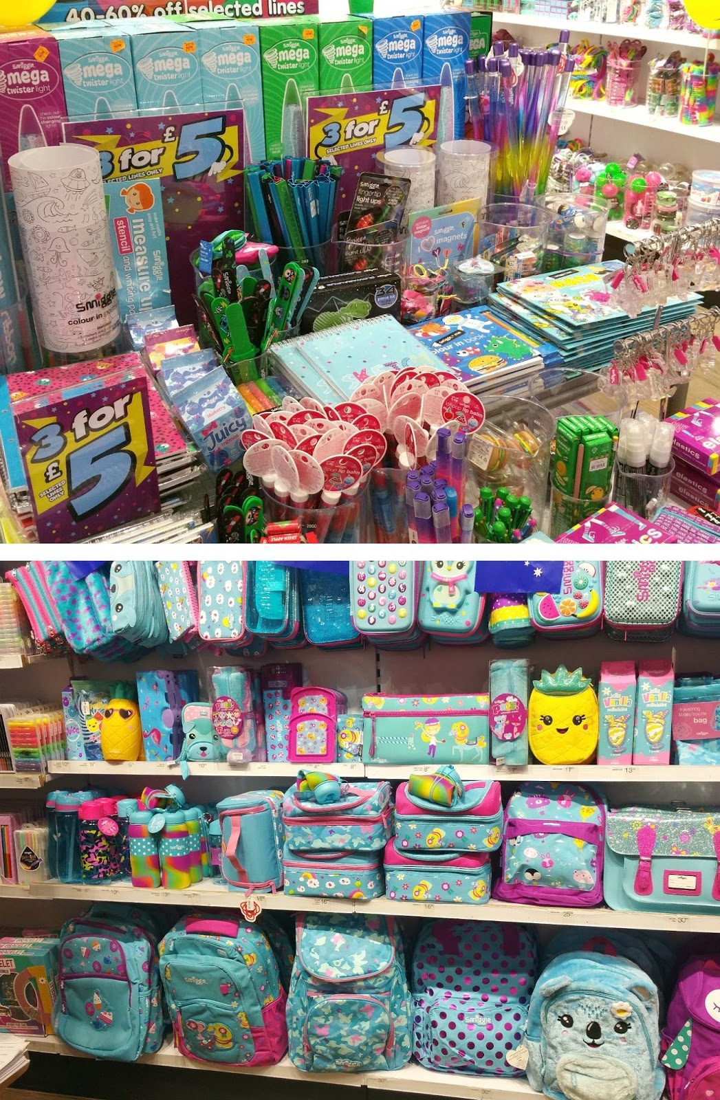 Smiggle, Back to School, Manchester Stationery Shop