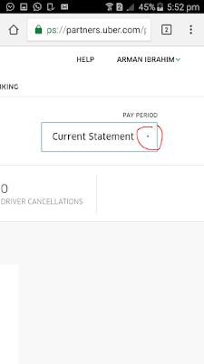 statement uber