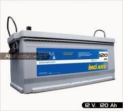 inci akü formul a heavy duty serisi 12 volt 120 amper
