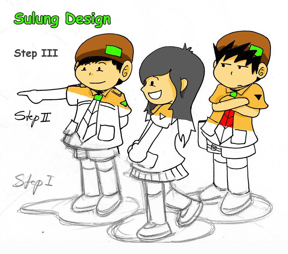 step pembuatan karakter