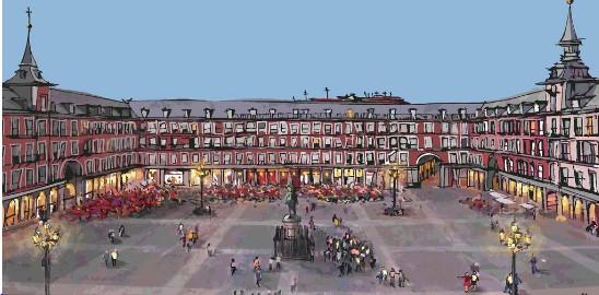 معلومات عن مدينة مدريد السياحية