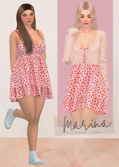 - ̗̀ Marina Dress ̖́- (TS4)