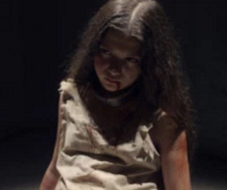 Little girl in the basement in Martyrs 2015
