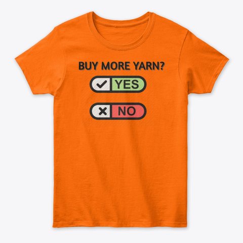 Buy more Yarn