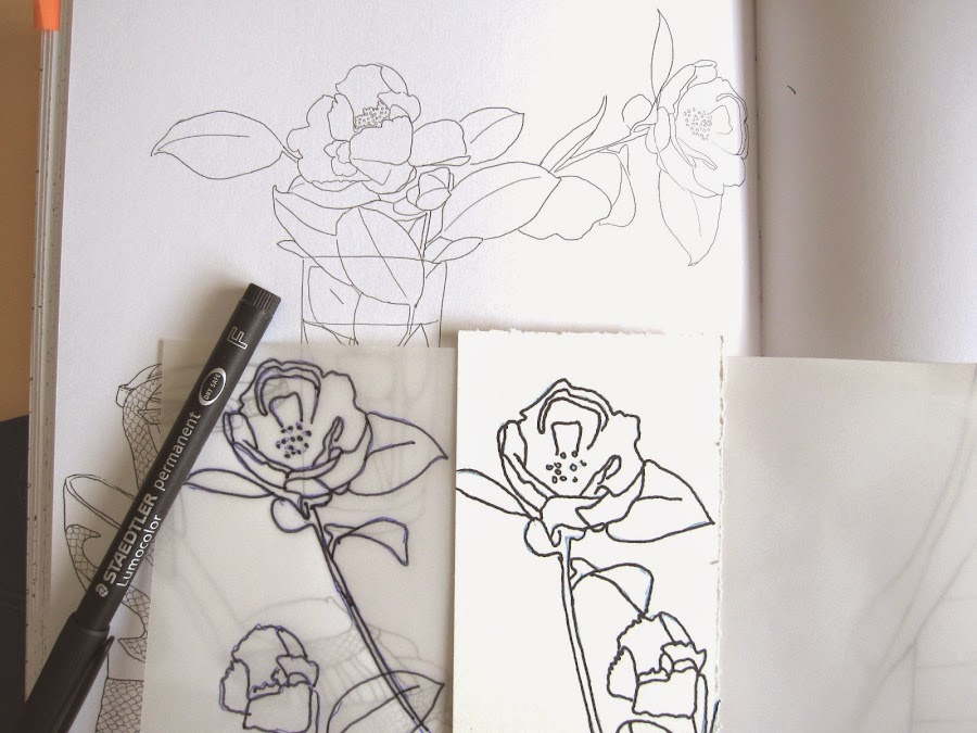 primer paso tag abril: cómo estampar en scrap una flor (amapola) sin tener sello
